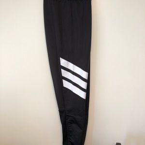 Adidas fleece lined soccer pants